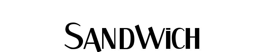 Sandwich Font Download Free